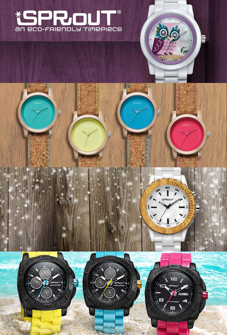 Photography Fashion Watches - Sprout Banner Ads