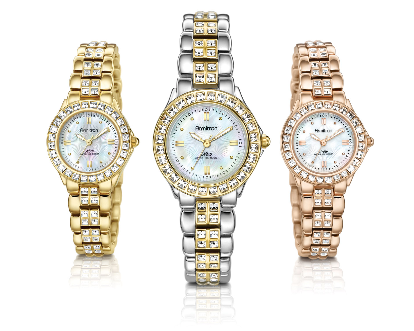 Armitron-diamonds-silver-yellow-red-gold-watches