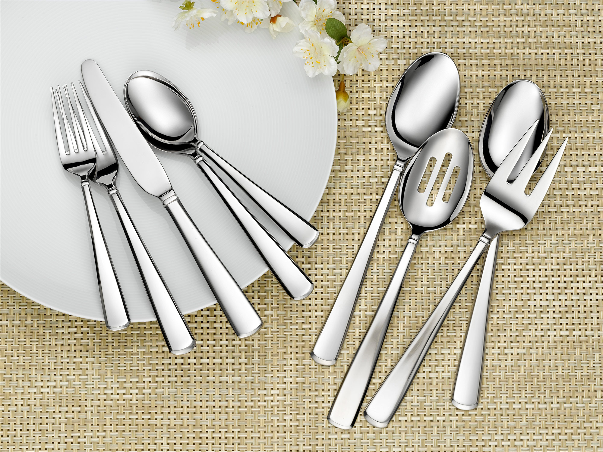 Cambridge Flatware lifestyle product photography