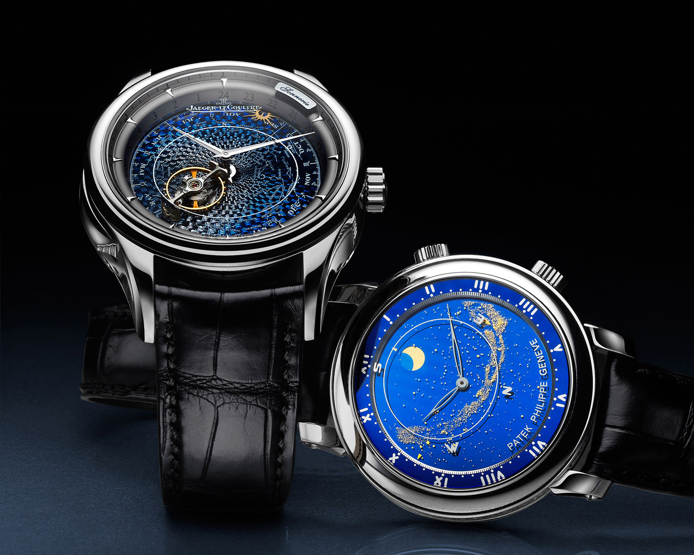 Mechanical timepiece photography - Jaeger LeCoultre & Patek Philippe - watch photographer Kliton Ceku