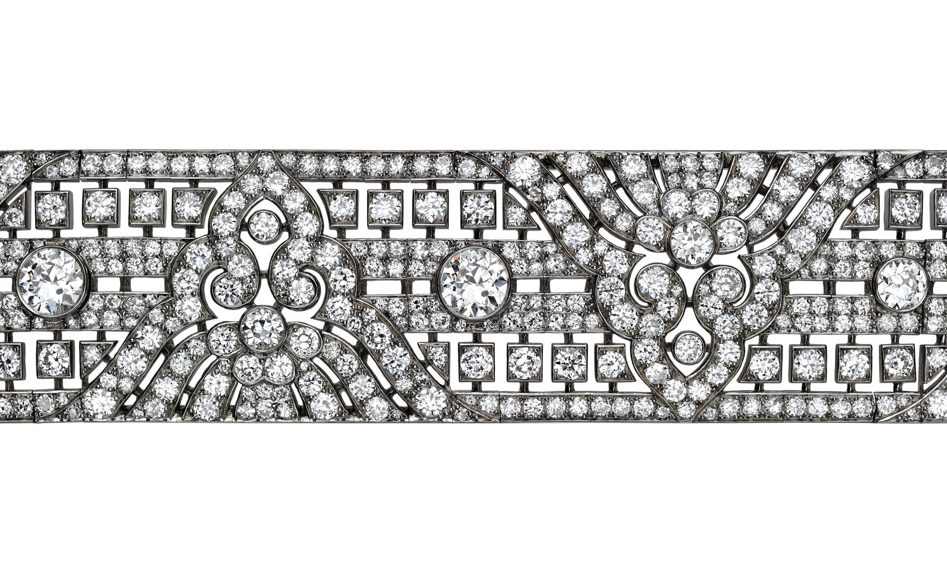 Diamond Photography - French Art Deco Bracelet